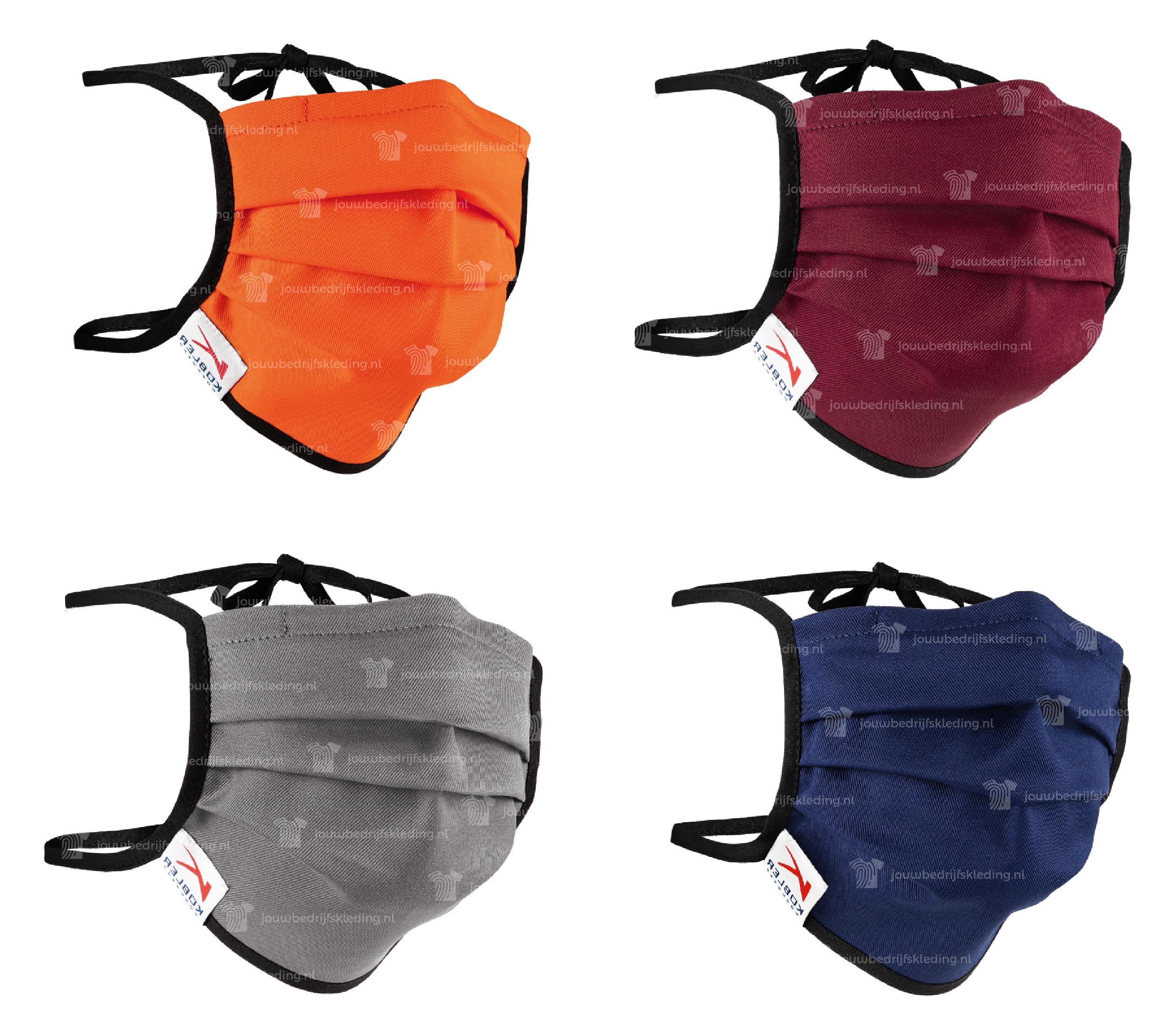 Gekleurde Gezichtsmaskers Strikverbinding